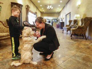 Missouri Funeral Home adds Comfort Dog to Staff