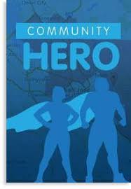 Community Heroes all around funeral service