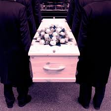 """50 year funeral director. . . """"Stopping ain't an option"""""""
