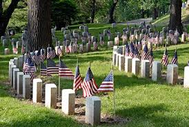 Calverton National Cemetery suspends group flag placements